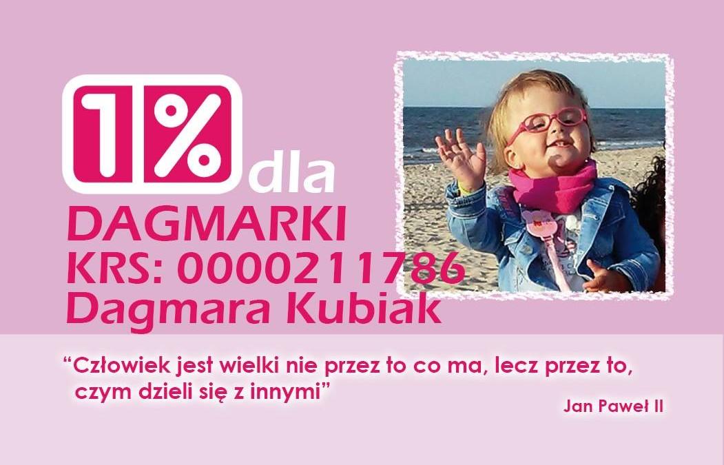 1% dla Dagmarki